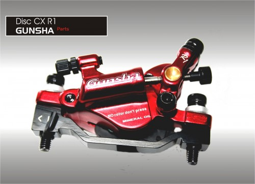 Gunsha CX R1 Disc Mechanische Hydralikbremse