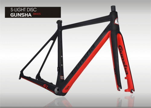 Vollcarbon Roadframeset Gunsha S-Light Disc